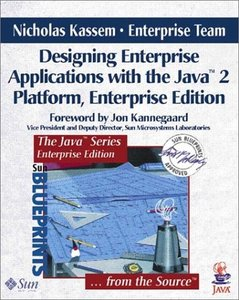 Designing Enterprise Applications with the Java 2 Platform, Enterprise Editi-cover