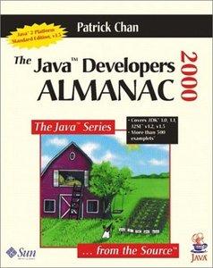 The Java Developers Almanac 2000, 3/e-cover