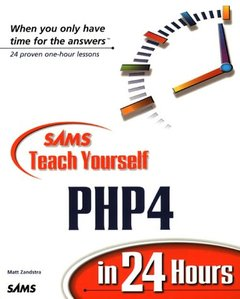 SAMS Teach Yourself PHP4 in 24 Hours (Paperback)-cover