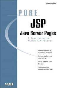 Pure JSP: Java Server Pages-cover