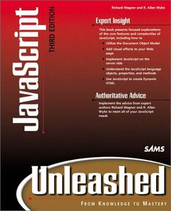 Javascript Unleashed, 3/e (Paperback)-cover