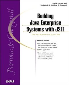 Building Java Enterprise Systems with J2EE (Paperback)-cover