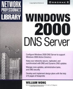 Windows 2000 DNS Server-cover