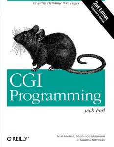 CGI Programming with Perl, 2/e-cover