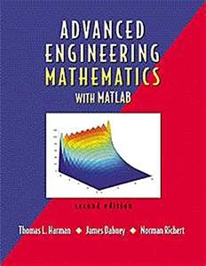 Advanced Engineering Mathematics With MATLAB, 2/e-cover