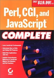 Perl, CGI, and JavaScript Complete-cover
