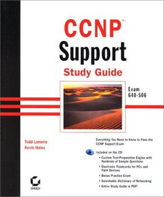 CCNP: Support Study Guide-cover