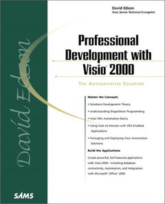 Professional Development with Visio 2000-cover