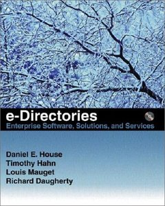 e-Directories: Enterprise Software, Solutions, and Services-cover