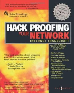 Hack Proofing your Network: Internet Tradecraft-cover