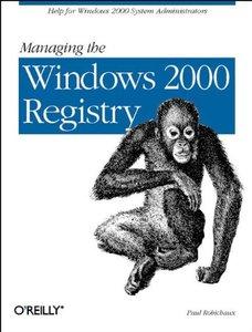Managing Windows 2000 Registry-cover