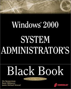 Windows 2000 System Administrator's Black Book-cover