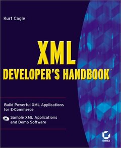 XML Developer's Handbook-cover