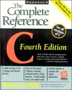 C: The Complete Reference, 4/e