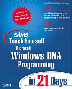 Sams Teach Yourself Windows DNA Programming in 21 Days-cover