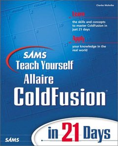 Sams Teach Yourself ColdFusion in 21 Days-cover
