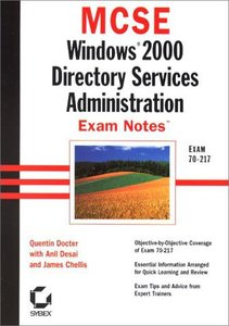MCSE : Windows 2000 Directory Services Administration Exam Notes (Paperback)-cover