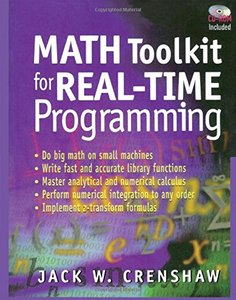 Math Toolkit for Real-Time Programming (Paperback)-cover