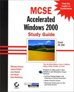 MCSE: Accelerated Windows 2000 Study Guide (Hardcover)-cover