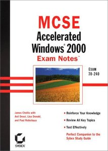 MCSE : Accelerated Windows 2000 Exam Notes (Paperback)-cover