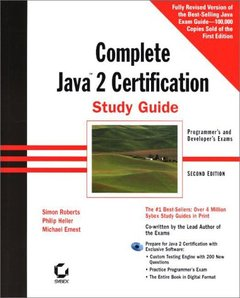 Complete Java 2 Certification Study Guide, 2/e-cover