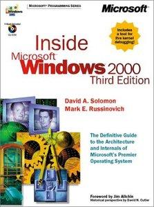 Inside Microsoft Windows 2000, 3/e-cover