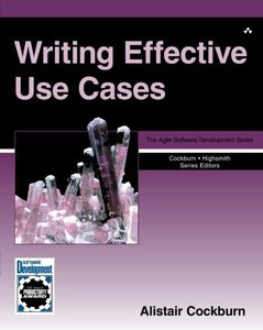 Writing Effective Use Cases (Paperback)-cover