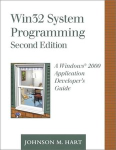 Win32 System Programming: A Windows 2000 Application Developer's Guide, 2/e (Hardcover)-cover