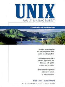 UNIX Fault Management: A Guide for System Administrators-cover