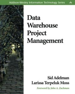 Data Warehouse Project Management (Paperback)-cover