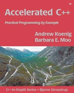 Accelerated C++: Practical Programming by Example (Paperback)(dhl)-cover