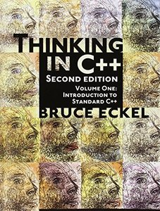 Thinking in C++, Volume 1: Introduction to Standard C++, 2/e (Paperback)-cover