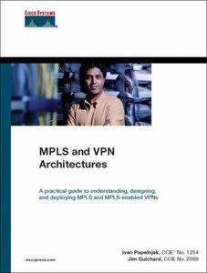 MPLS and VPN Architectures (Hardcover)-cover