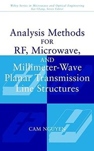 Analysis Methods for RF, Microwave, and Millimeter-Wave Planar Transmission Line-cover
