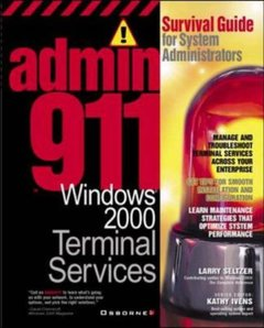 Admin911: Windows 2000 Terminal Services-cover
