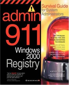 Admin911: Windows 2000 Registry-cover