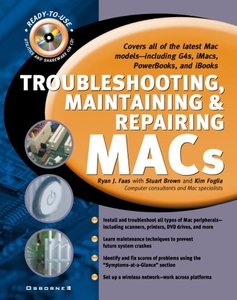 Troubleshooting, Maintaining, and Repairing Macs (Hardcover)-cover