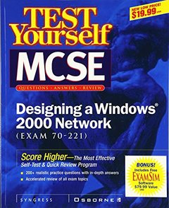 Test Yourself MCSE Designing A Windows?2000 Network (Exam 70-221)-cover
