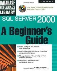 SQL Server 2000: A Beginner's Guide-cover