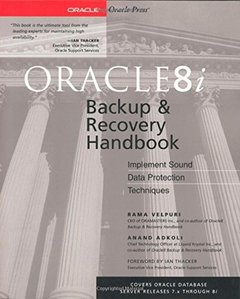 Oracle8i Backup & Recovery Handbook-cover