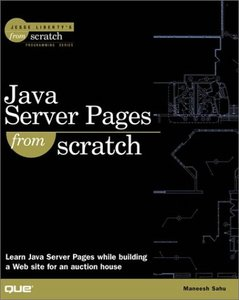 Java Server Pages from Scratch-cover