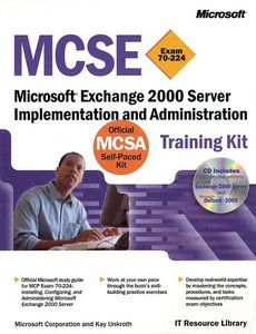 MCSE Training KitMicrosoft Exchange 2000 Server Implementation and Administratio-cover