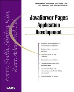 Java Server Pages Application Development (Paperback)-cover