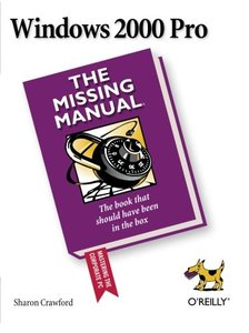 Windows 2000 Pro: The Missing Manual-cover