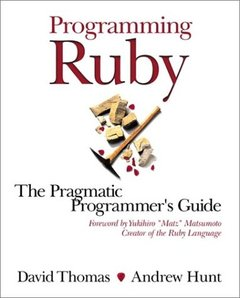 Programming Ruby: A Pragmatic Programmer's Guide (Paperback)-cover