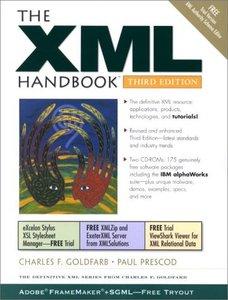 The XML Handbook, 3/e (Paperback)-cover