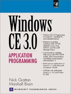 Windows CE 3.0 Application Programming-cover