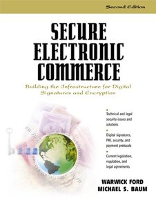 Secure Electronic Commerce, 2/e-cover