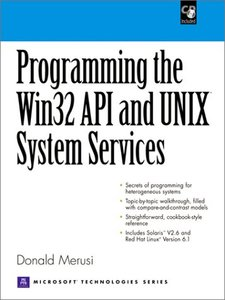 Programming the Windows 32 API and UNIX System Services-cover