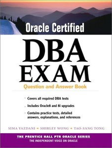 Oracle Certified DBA Exam: Question and Answer Book-cover